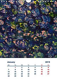 SQUARELY ABSTRACT BY GAYA (Wall Calendar 2019 DIN A4 Portrait) - Produktdetailbild 1