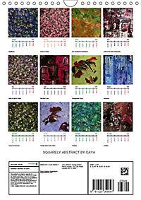 SQUARELY ABSTRACT BY GAYA (Wall Calendar 2019 DIN A4 Portrait) - Produktdetailbild 13