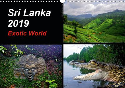 Sri Lanka 2019 Exotic World (Wall Calendar 2019 DIN A3 Landscape), © Mirko Weigt