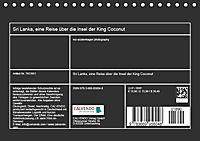 Sri Lanka, eine Reise über die Insel der King Coconut (Tischkalender 2019 DIN A5 quer) - Produktdetailbild 13