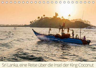 Sri Lanka, eine Reise über die Insel der King Coconut (Tischkalender 2019 DIN A5 quer), mo wüstenhagen photography
