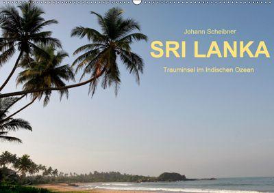 Sri Lanka-Trauminsel im Indischen Ozean (Wandkalender 2019 DIN A2 quer), Johann Scheibner