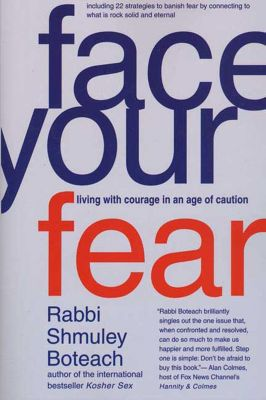St. Martin's Press: Face Your Fear, Shmuley Boteach