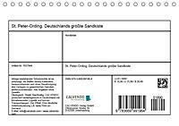 St. Peter-Ording. Deutschlands größte Sandkiste (Tischkalender 2019 DIN A5 quer) - Produktdetailbild 13