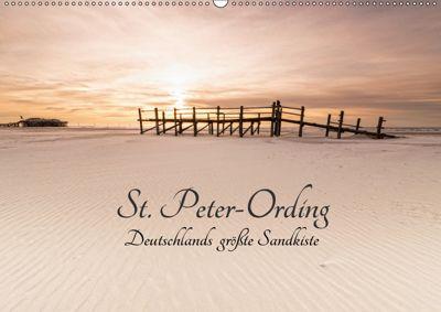 St. Peter-Ording. Deutschlands größte Sandkiste (Wandkalender 2019 DIN A2 quer), Nordbilder Fotografie aus Leidenschaft