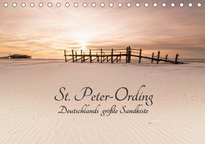 St. Peter-Ording. Deutschlands grösste Sandkiste (Tischkalender 2019 DIN A5 quer), Nordbilder Fotografie aus Leidenschaft