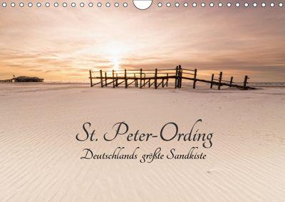 St. Peter-Ording. Deutschlands grösste Sandkiste (Wandkalender 2019 DIN A4 quer), Nordbilder Fotografie aus Leidenschaft