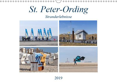 St. Peter-Ording Stranderlebnisse (Wandkalender 2019 DIN A3 quer), Manuela Falke