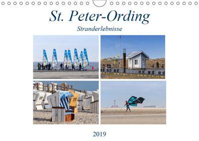 St. Peter-Ording Stranderlebnisse (Wandkalender 2019 DIN A4 quer), Manuela Falke