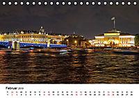 St. Petersburg bei Nacht (Tischkalender 2019 DIN A5 quer) - Produktdetailbild 2