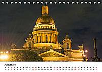 St. Petersburg bei Nacht (Tischkalender 2019 DIN A5 quer) - Produktdetailbild 8