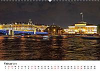 St. Petersburg bei Nacht (Wandkalender 2019 DIN A2 quer) - Produktdetailbild 2