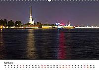 St. Petersburg bei Nacht (Wandkalender 2019 DIN A2 quer) - Produktdetailbild 4