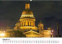 St. Petersburg bei Nacht (Wandkalender 2019 DIN A2 quer) - Produktdetailbild 8