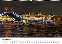 St. Petersburg bei Nacht (Wandkalender 2019 DIN A2 quer) - Produktdetailbild 10
