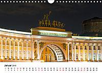 St. Petersburg bei Nacht (Wandkalender 2019 DIN A4 quer) - Produktdetailbild 1