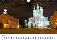 St. Petersburg bei Nacht (Wandkalender 2019 DIN A4 quer) - Produktdetailbild 5