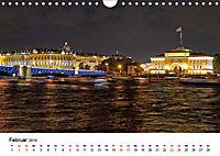 St. Petersburg bei Nacht (Wandkalender 2019 DIN A4 quer) - Produktdetailbild 2