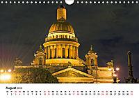 St. Petersburg bei Nacht (Wandkalender 2019 DIN A4 quer) - Produktdetailbild 8