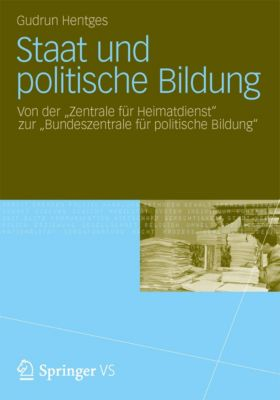 Staat und politische Bildung, Gudrun Hentges