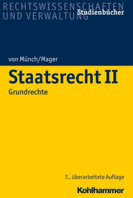 Staatsrecht II, Ute Mager, Ingo von Münch