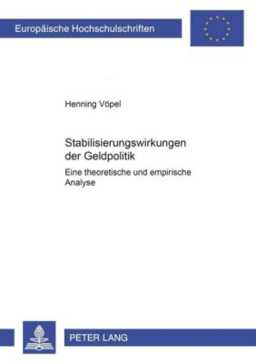 Stabilisierungswirkungen der Geldpolitik, Henning Vöpel