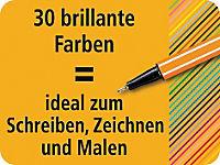 STABILO® point 88® Fineliner, 30er Rollerset, 25+5 Neonfarben - Produktdetailbild 3