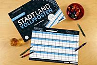 """STADT LAND VOLLPFOSTEN® - BLUE EDITION - """"Wissen ist Macht"""" - Produktdetailbild 1"""