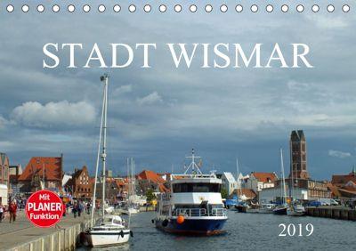 Stadt Wismar 2019 (Tischkalender 2019 DIN A5 quer), Holger Felix