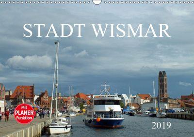 Stadt Wismar 2019 (Wandkalender 2019 DIN A3 quer), Holger Felix