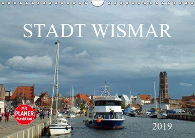 Stadt Wismar 2019 (Wandkalender 2019 DIN A4 quer), Holger Felix