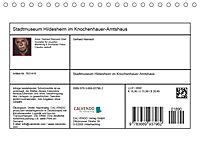 Stadtmuseum Hildesheim im Knochenhauer-Amtshaus (Tischkalender 2019 DIN A5 quer) - Produktdetailbild 13