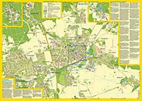 Stadtplan Bernau bei Berlin - heute und 1954 - Produktdetailbild 1