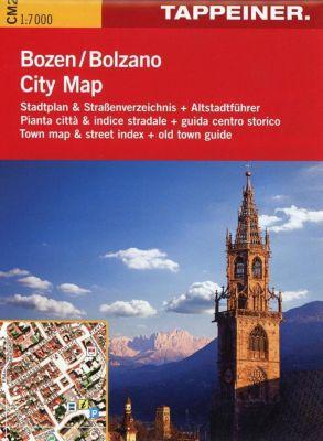 Stadtplan Bozen Citymap; Bolzano