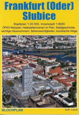 Stadtplan Frankfurt (Oder) und Slubice - Dirk Bloch |