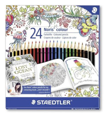 Staedtler - Farbstift Noris colour 24er-Etui
