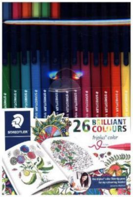 Staedtler - Triplus color box 26er-Set