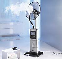Standventilator mit Sprühnebel, Ionisator & Anti-Mücken-Funktion - Produktdetailbild 1