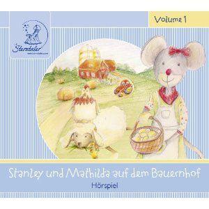 Stanley & Mathilda auf dem Bauernhof, 1 Audio-CD, Katja Ruhl