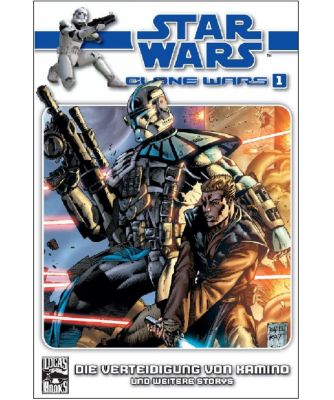 Star Wars - Clone Wars (Comic) Band 1: Die Verteidigung von Kamino