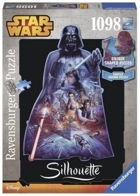 Star Wars Darth Vader. Silhouette Puzzle