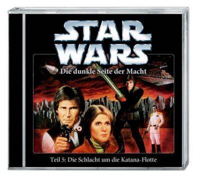 Star Wars, Die dunkle Seite der Macht - Die Schlacht um die Katana-Flotte, 1 Audio-CD, Timothy Zahn