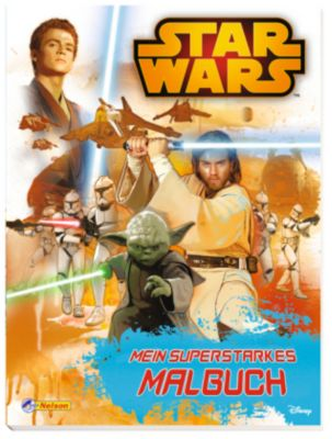 Star Wars - Mein superstarkes Malbuch