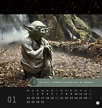 Star Wars, Meister Yoda Postkartenkalender 2019 - Produktdetailbild 2