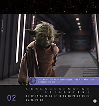Star Wars, Meister Yoda Postkartenkalender 2019 - Produktdetailbild 3