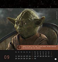 Star Wars, Meister Yoda Postkartenkalender 2019 - Produktdetailbild 10