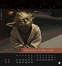 Star Wars, Meister Yoda Postkartenkalender 2019 - Produktdetailbild 12