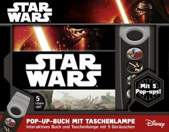 star wars pop up buch mit taschenlampe buch. Black Bedroom Furniture Sets. Home Design Ideas