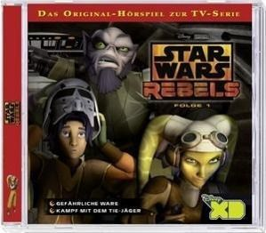Star Wars Rebels, 2 Audio-CD