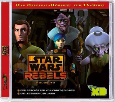 Star Wars Rebels - Der Beschützer von Concord Dawn / Die Legenden der Lasat, 2 Audio-CDs -  pdf epub